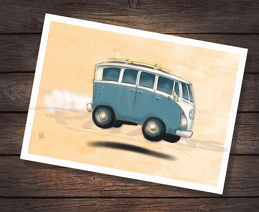 SPILTTY VW VAN