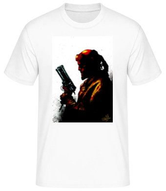 HELLBOY T-SHIRT           (Price inc. P&P UK only)