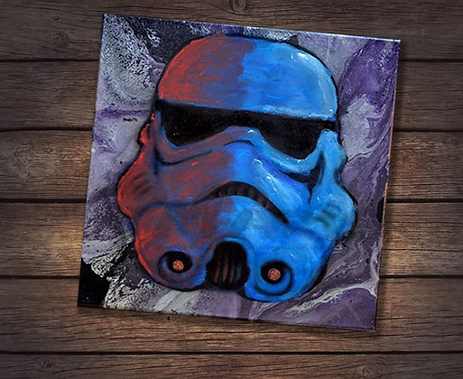 Blue Stormtrooper