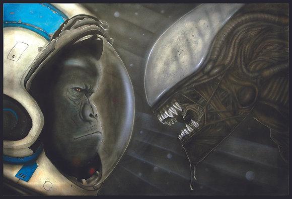 Monkey vs Alien