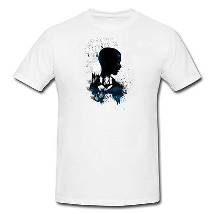 Stranger Things poster t-shirt white
