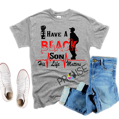 I have a BLACK son