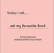 Chachi Power Project #allaboardthechachitrain Gif: Eat My Favourite Food