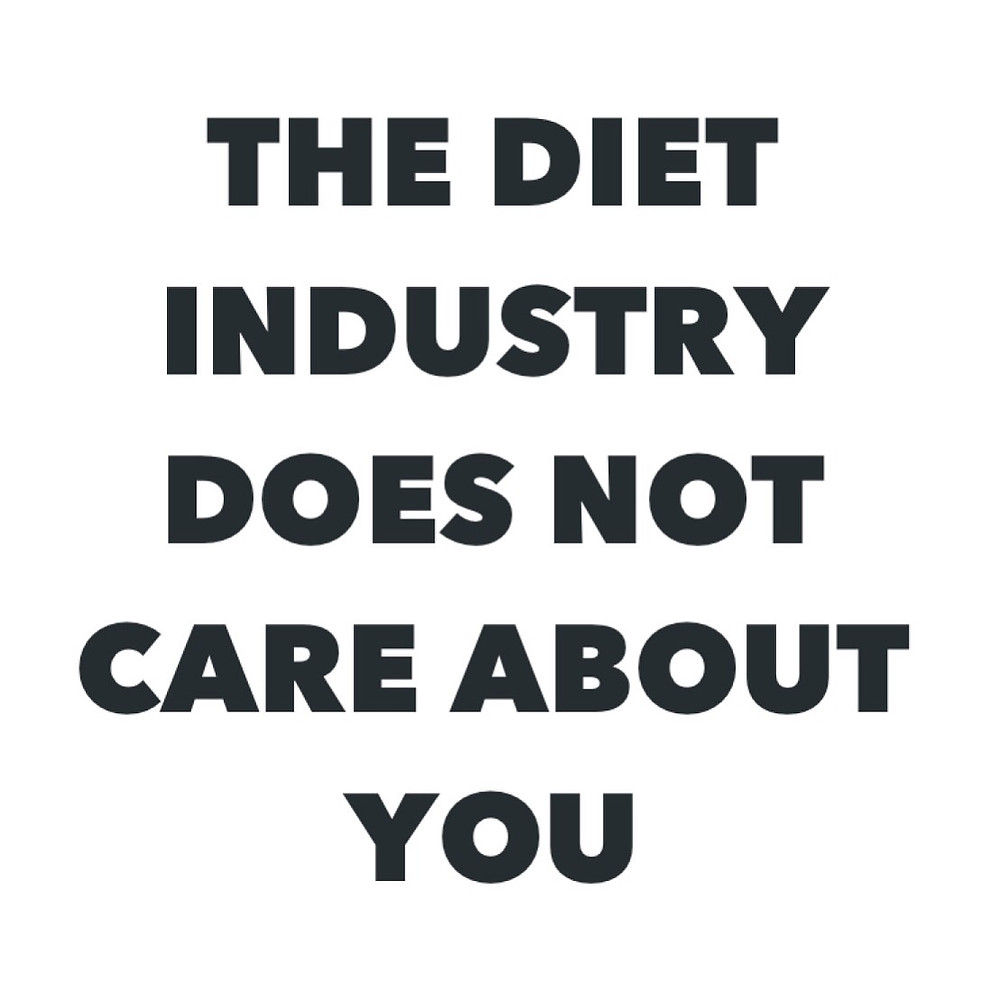 Chachi Power Project: The Diet Industry Does Not Care About You