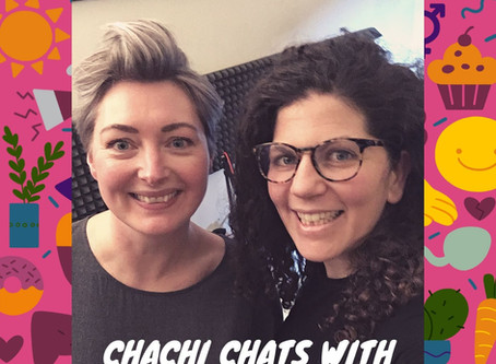 chachi chats is go! Here is episode 1 with body image and intuitive eating coach gillian mccollum!