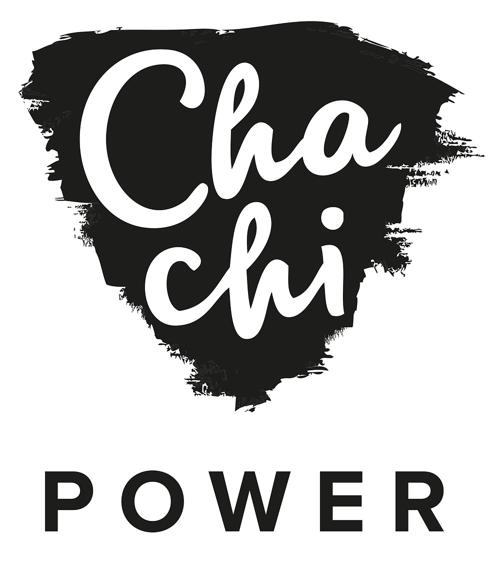 Chachi Power Project Logo: I DON'T HATE MY BODY, I THINK IT'S WONDERFUL...