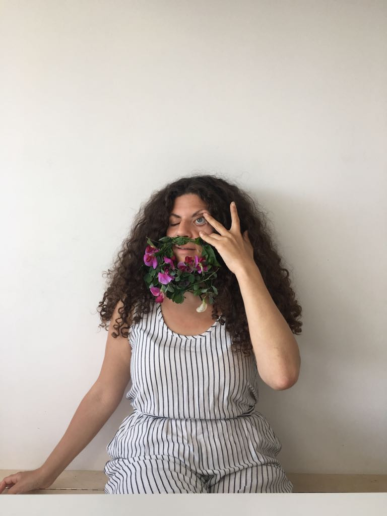 Chachi Power Project #botanicalbodyhair blog piece about Danni's contribution to the feminist hashtag created by @sarah_louise_ferg
