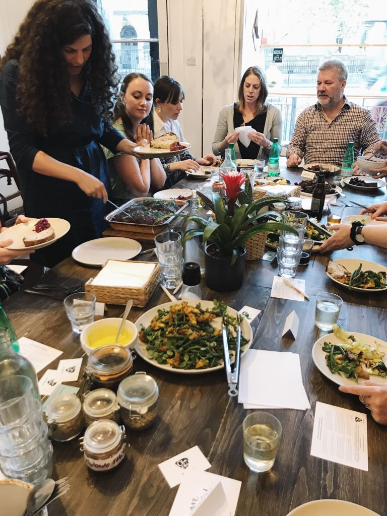 Intuitive Eating Dinner with The Chachi Power Project