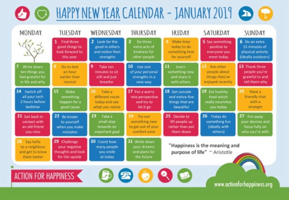 Chachi Power Project: Happy New Year Calendar