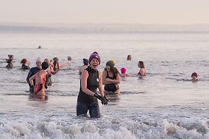International Women's Day swim Edinburgh
