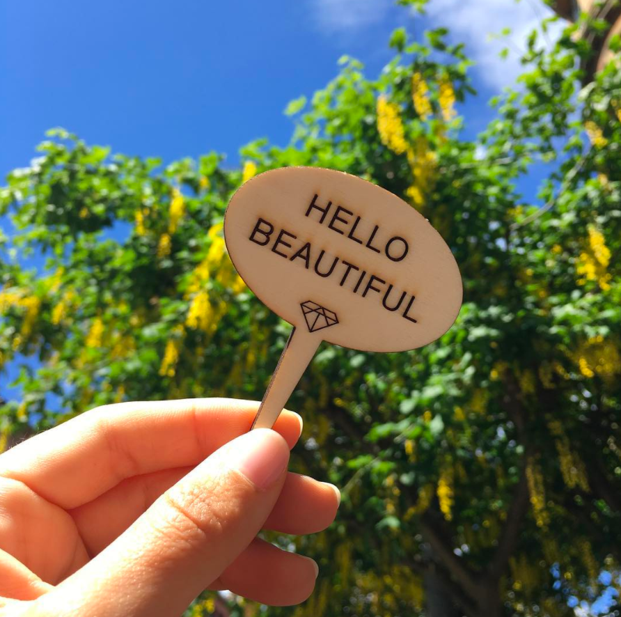 Chachi Power Project: Hello Beautiful tag