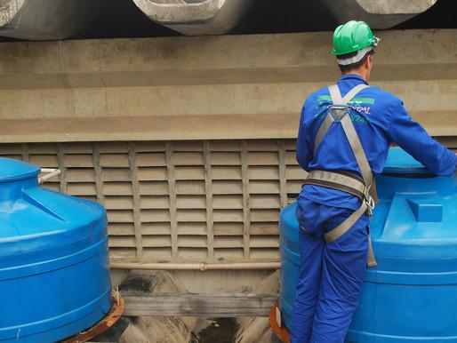 🥇 Limpeza de caixa d'água é importante para prevenção da dengue