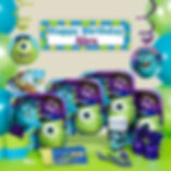 Monsters Inc. party supplies