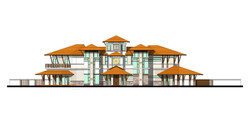 Thouse elevations Flat1