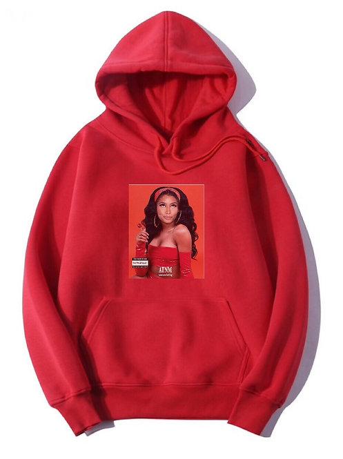 Nicki Minaj Hoodie Red