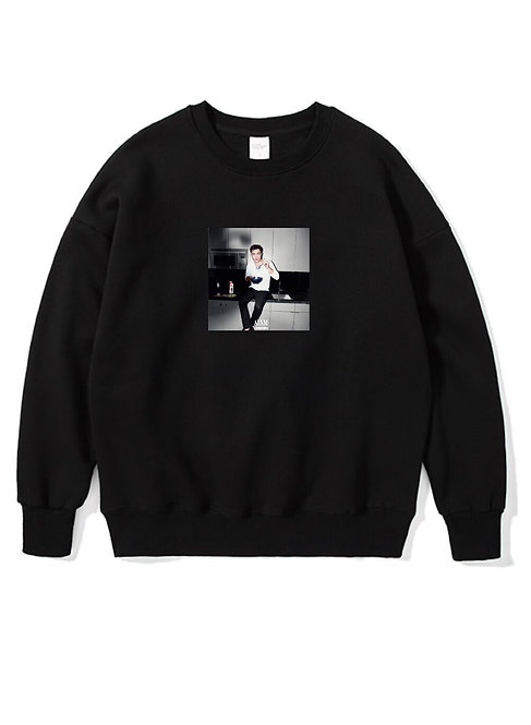 Chuck Bass Crewneck Black