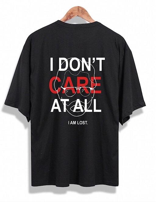 I Don´t Care Tee Black