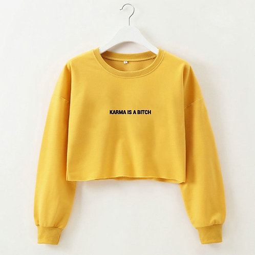 Karma Crop Sweater