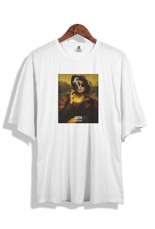 Smokey Mona T-Shirt White