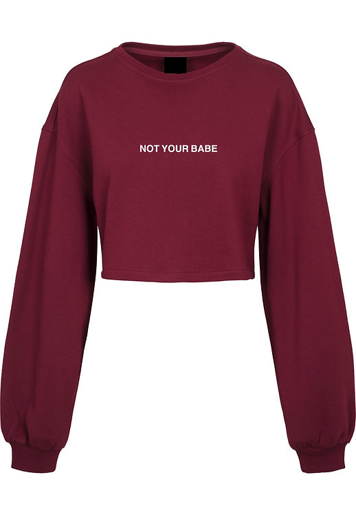 Not Your Crop Sweater