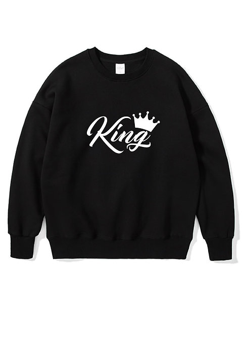 King Crewneck black
