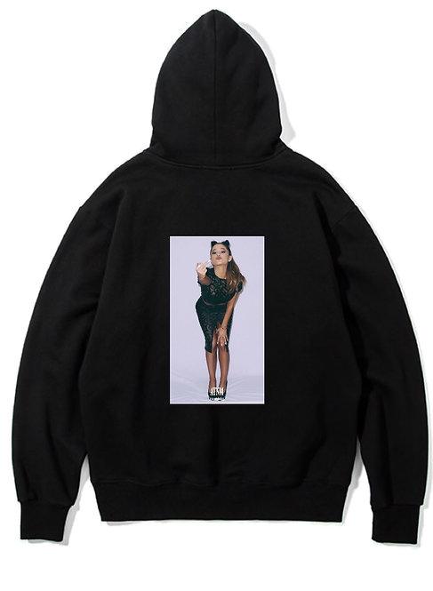 Ariana Grande Fuck Hoodie Black