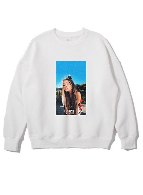 Ariana Grande Crewneck White