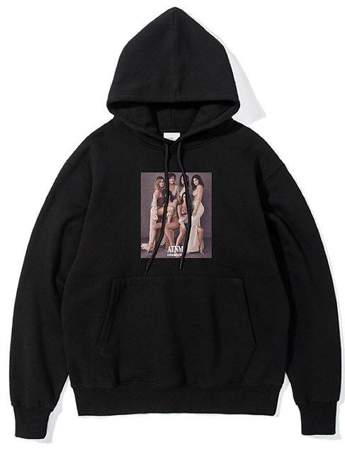 Kardashian Hoodie Black