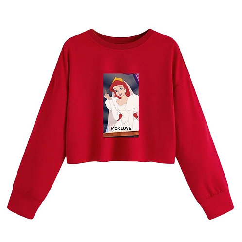 F*ck Love Crop Sweater