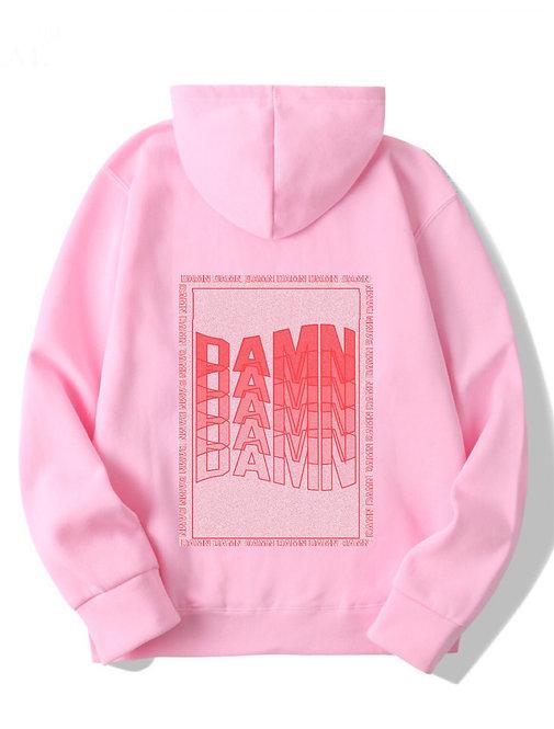 DAMN Hoodie Pink