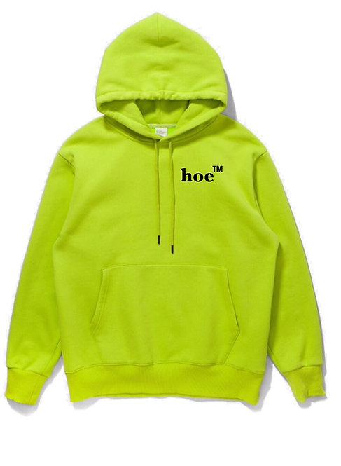 Hoe Hoodie Neon