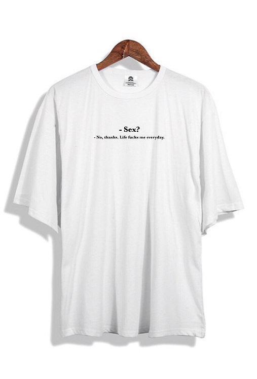 Sex T-Shirt White
