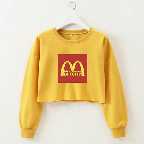Mc´scuse Crop Sweater