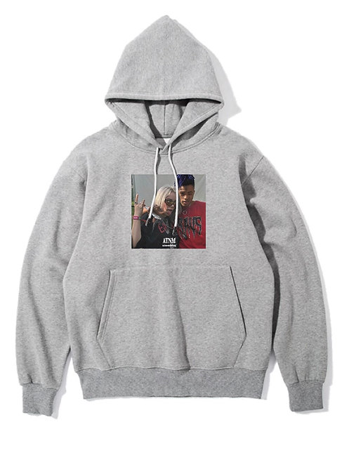 Billie & XX Hoodie Grey