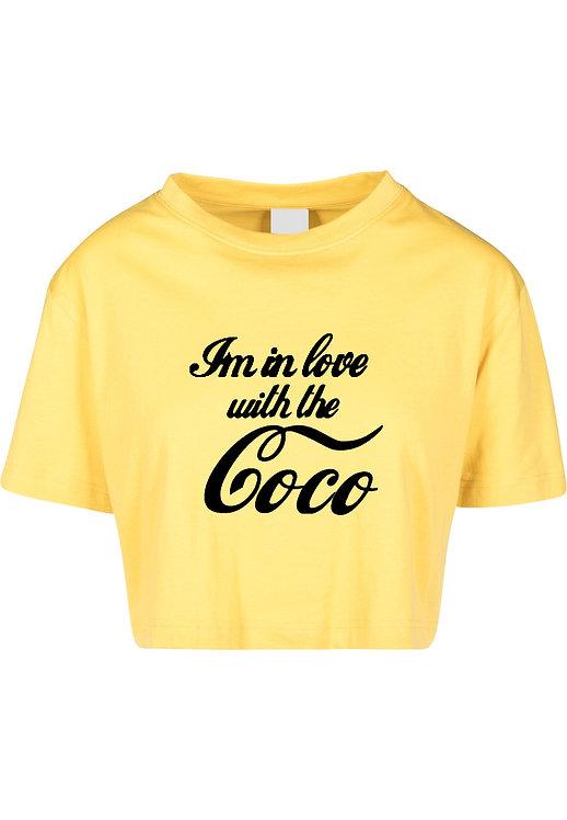 Love CoCo Crop Tee