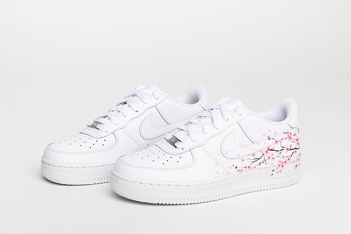 Air Force 1 Pink Flower