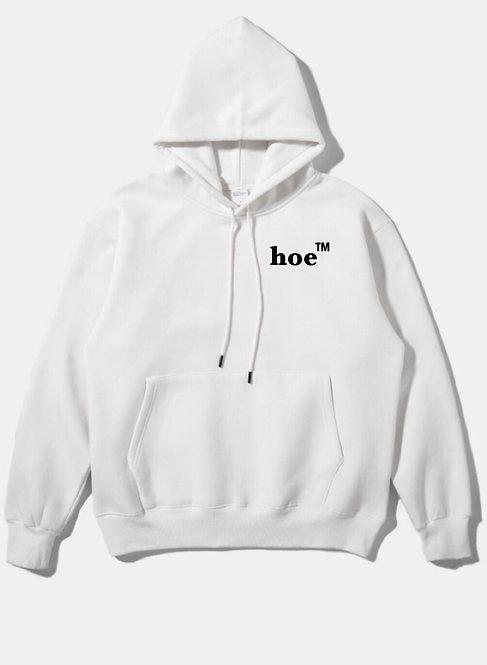 Hoe Hoodie White