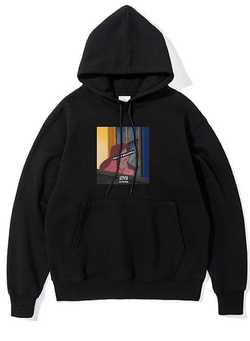 Your Beautiful Hoodie Black