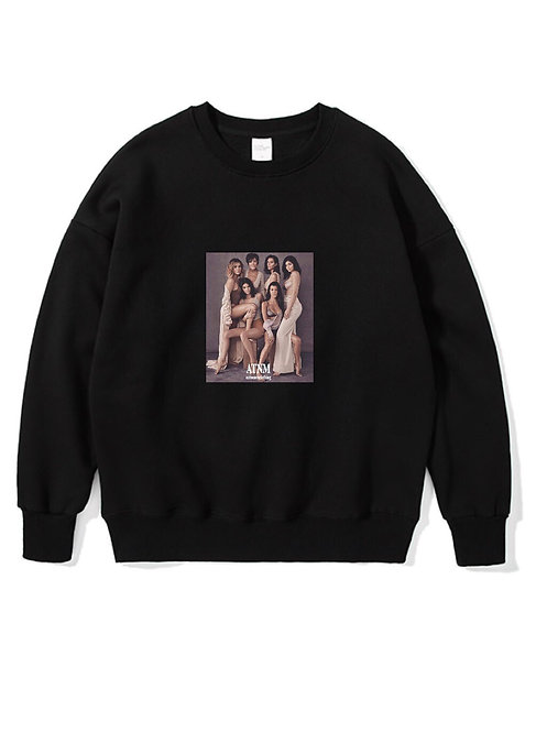 Kardashian Crewneck Black