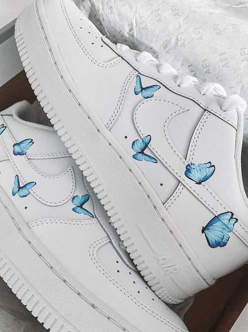 Air Force 1 Blue Small Butterfly