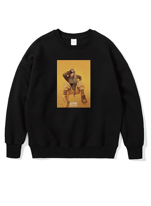 Billie Eilish Crewneck Black