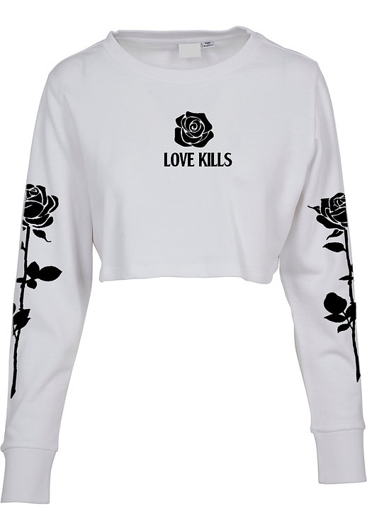 Rose Kills Crop Sweater