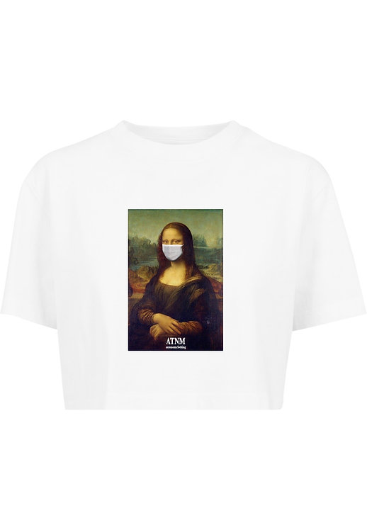 Protect Mona Crop T-Shirt White