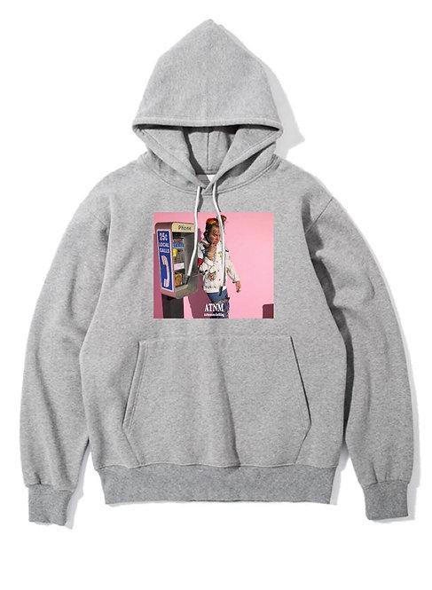 6ix9ine Hoodie Grey