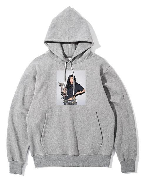 Kylie Jenner Hoodie Grey