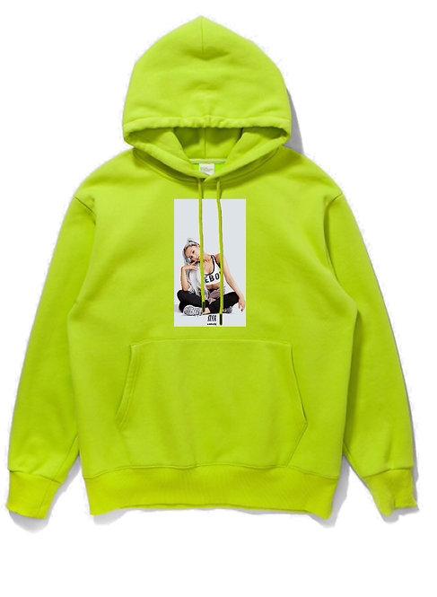 Ariana Grande Hoodie Neon
