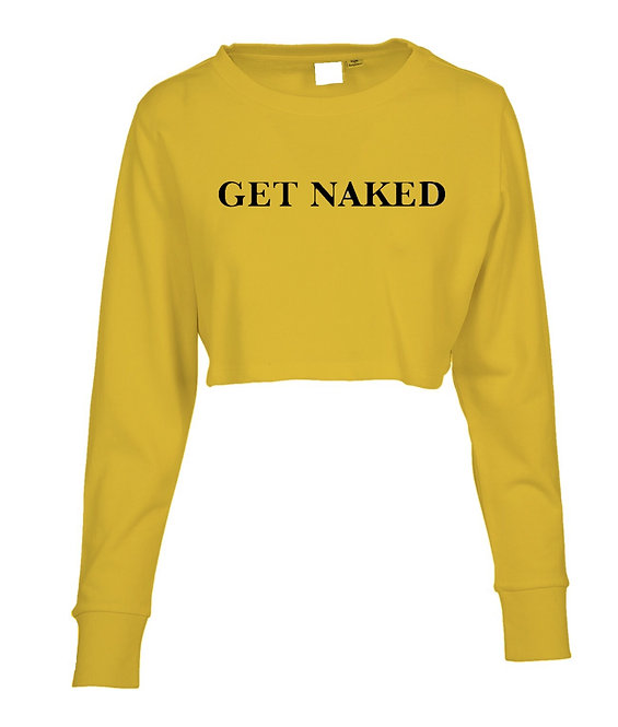 Get Naked Crop Sweater