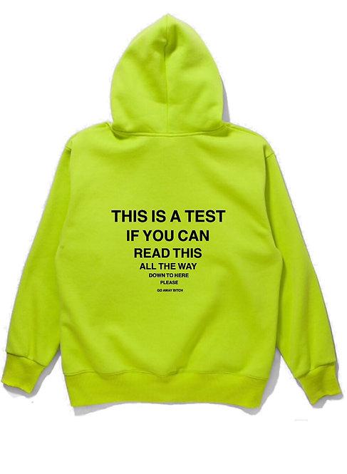 Test Hoodie Neon