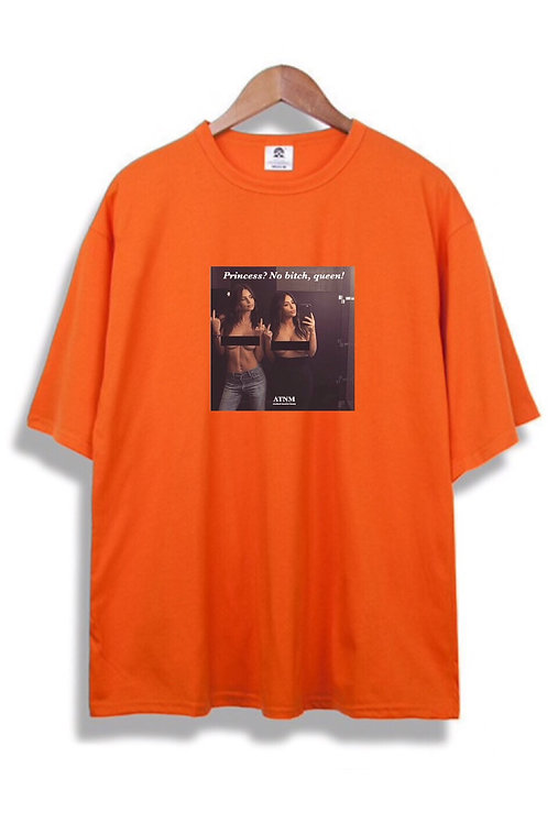 No Bitch T-Shirt Orange
