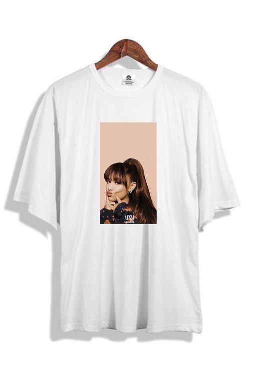 Ariana Grande Tee White